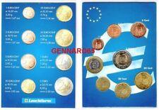 SPAGNA SERIE EURO ANNO 2004 FDC IN FOLDER BLU