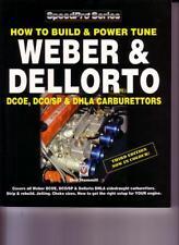 WEBER DELLORTO CARBURETTOR HOW TO BUILD BOOK POWER TUNE DCOE DHLA DCO3 DCOA3 40