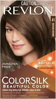 Revlon ColorSilk Beautiful Color 41 Medium Brown 1 ea (Pack of 5)