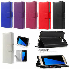 New Luxury Leather Card Holder Wallet Flip Case Cover for Samsung Galaxy s8