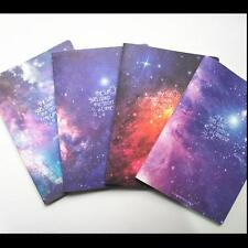 """""""Stars Come"""" Exercise Book Pack of 4 Cute Lined Notebook Journal Study Planner"""