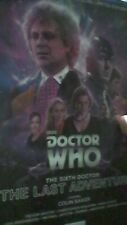 The Sixth Doctor: The Last Adventure by Nicholas Briggs DOCTOR WHO LIMITED EDIT.