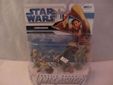 Star Wars  Battle Packs Unleashed - Commanders  NOC  (316DJ18 ) 85882