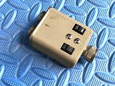 Rare Vintage SWITCHCRAFT IN LINE DOUBLE VOLUME CONTROL FOR JT-30 HARP Microphone