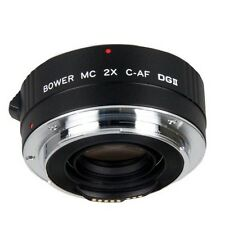 Bower 2x Teleconverter Lens (SX4DGC) For Canon EOS DSLR Camera w/ EF Lenses