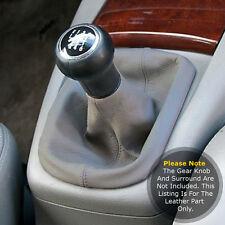 Accoppiamenti VOLKSWAGEN VW PASSAT B5 1997-2005 GEAR Ghetta Vera pelle grigia e cuciture