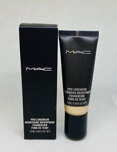 MAC Pro Longwear Nourishing Waterproof Foundation NW18