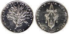 50 LIRE 1976 ANNO XIV PAOLO VI CITTA' DEL VATICANO VATICAN CITY Fdc Unc #6433