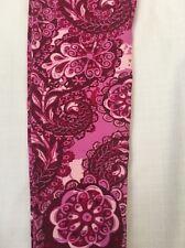 Gorgeous New LulaRoe OS Magenta Pink Paisley Floral Leggings - Unicorn
