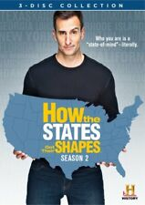 HOW THE STATES GOT THEIR SHAPES SEASON 2 New Sealed 3 DVD Set History Channel
