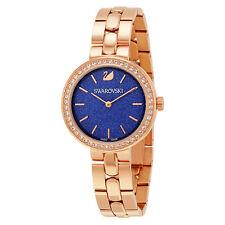 Swarovski Daytime Royal Blue Rose Gold-tone Ladies Watch 5182277