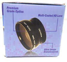 0.45X Wide Angle Lens for Canon EOS T1i T2i T3 T3i T4i 60D 7D 5DMK2 5DMK3 58mm