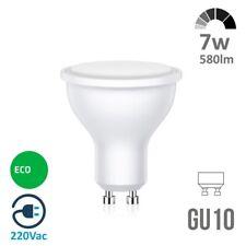 Bombilla LED 7w Dicroica GU10 100º ✔️ Casquillo: GU10 ✔️ 580 lúmenes