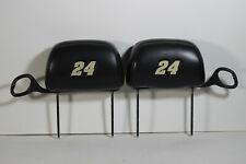 00-05 Chevrolet Monte Carlo Jeff Gordon 24 #24 Symbol Chevy SS Head Rest Set