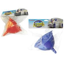 5pc Plastic Funnel Set Home Kitchen Auto Filling Liquid Juice Oil 5 Sizes A