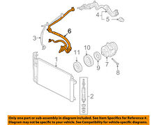 FORD OEM Air Conditioner-Discharge Hose AE5Z19D734A
