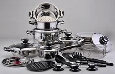 Bateria de cocina SOLINGEN - 30 piezas - Maxima calidad ¡Valida para Induccion!