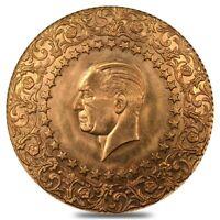 500 Kurush Turkey Ataturk Gold Coin AU/BU AGW 1.034 oz (Random Year, 1942-2010)