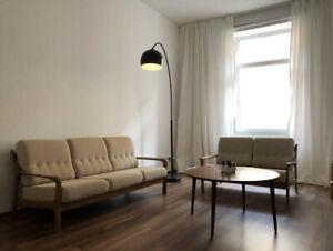 sofa couchgarnitur 3 2 1 Vintage 60er Jahre Mid Century