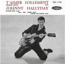 Johnny Hallyday - T'aimer Follement - CD Replica Neuf sous Blister