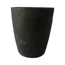 2 kg clay graphite crucible for melting gold silver and other metal
