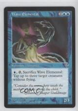 1996 Magic: The Gathering - Mirage Booster Pack Base NoN Wave Elemental Card 0a1