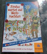 Findus Waits To Christmas Version 2 CD ROM For PC And Mac IN Original Packaging