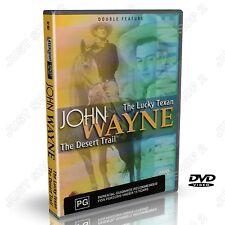 The Desert Trail  + The Luck Texan : John Wayne Double Feature : New DVD