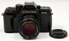 Contax 167MT 35mm Film SLR Camera c/w Yashica ML 50mm f/1.4 Lens Kit - Excellent