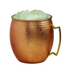 Brilliant - Giant Hammered Moscow Mule Copper Ice Bucket Mug, 2.7Liters