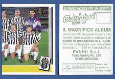 FIGURINA CALCIATORI PANINI 1994/95 - NUOVA/NEW N.168 SQUADRA - JUVENTUS