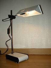 LAMPE ANCIENNE DESIGN EN METAL 1970 / VINTAGE LAMP SEVENTY