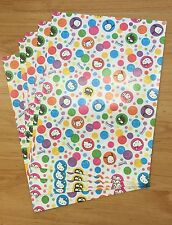 Vintage Sanrio 2001 Hello Kitty 5pc White Bubble Paper Gift Bags