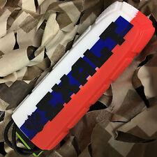 New Exalt Bayonet Barrel Cover Sock Plug Condom - Russian Flag (White/Blue/Red)