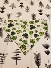 New listing Reversible Over The Collar St. Patrick's Day Dog Bandana