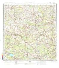 Russian Soviet Military Topographic Maps - KLUCZBORK (Poland),1:200 000, ed.1978