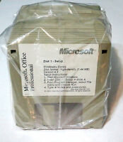 Microsoft Office Professional version 4.3  (23 diskettes) ***** VERY RARE ******