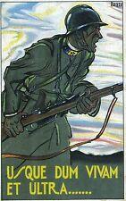 WWI - 225°  REGGIMENTO FANTERIA -BRIG. AREZZO (DIAVOLI GIALLI)1924 DIS. BAZZI