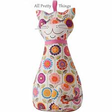 FLORAL CAT Shaped DOOR STOP Ulster Weavers BNWT - 1.5kg - 8CAT3512