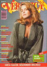 VERONICA 1990 nr. 41 - GRETA SCACCHI / KIM DELANEY / TINEKE SCHOUTEN /PAUL YOUNG