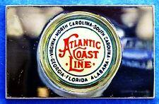 ATLANTIC COAST LINE Emblem 0.76 oz .925 Silver Bar Franklin Mint + Paper
