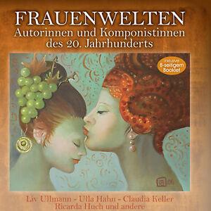 Frauenwelten - Autorinnen und Komponistinnen des 20.Jahrhunderts (CD)