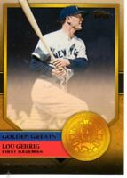 2012 TOPPS GOLDEN GREATS LOU GEHRIG CARD #GG-1 SHARP MINT CONDITION CARD