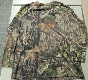 Mossy Oak Shirt Mens Size XL(46-48) Camo Break Up Country Long Sleeve Hunting