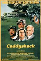 Caddyshack Movie POSTER 27 x 40 Chevy Chase, Rodney Dangerfield, Bill Murray, A