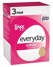 Leggs Womens Everyday Control Top Support Panty Hose