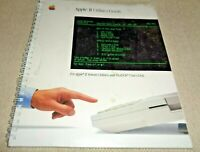 Apple II Utilities Guide 1985 Vintage Instructions Manual System ProDOS User