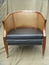 Vintage Charlotte Chair Company 'Hollywood Regency' Barrel Back Chair