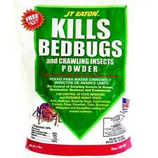 JT Eaton 203-4BG Bedbug and Crawling Insect Powder with Diatomaceous Earth, 4-Po
