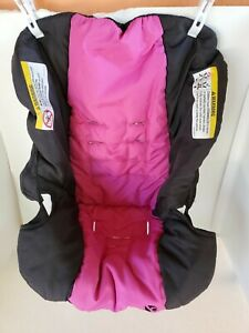 Baby Trend EZ Ride 35 Travel System Fabric Pink Car Seat Cover Replacement